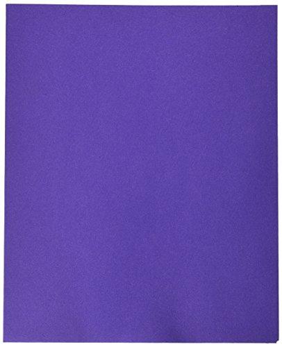 Oxford 57583 Ordner mit zwei Taschen, Violett, Briefgröße, 10 Stück Oxford 2 Tasche