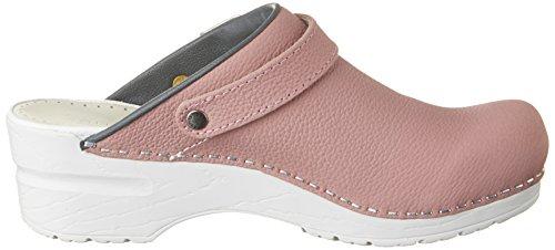 Sanita Damen Edna Open Clogs Pink (Rose/Grey)