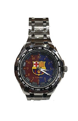Reloj Caballero FC Barcelona. Exclusivo y Elegante. Esfera de 4,5 cm