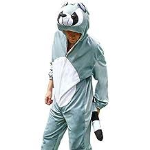 Waschbär-Kostüm, J21 Gr. M-XL, Fasnachts-Kostüme Tier-Kostüme, Wasch-bär Kostüme Wasch-bären Kostüme Faschingskostüm, Fasching Karneval, Faschings-Kostüme, Geschenk Erwachsene