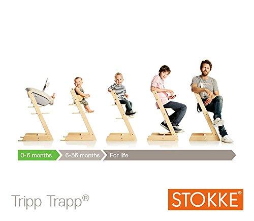 Imagen para Stokke - Trona evolutiva Tripp Trapp ® rojo