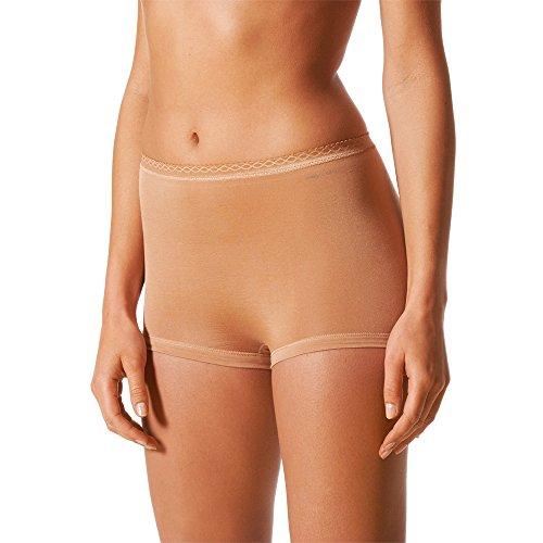Feminines Seiden-pants (UNWAGO 2er Pack Mey Damen Panty - Mey Lights - 89206 - Skin - Größe 42 - Mey Bodysize - Damen Pants ohne Seitennähte Unterhosen für Damen Set)