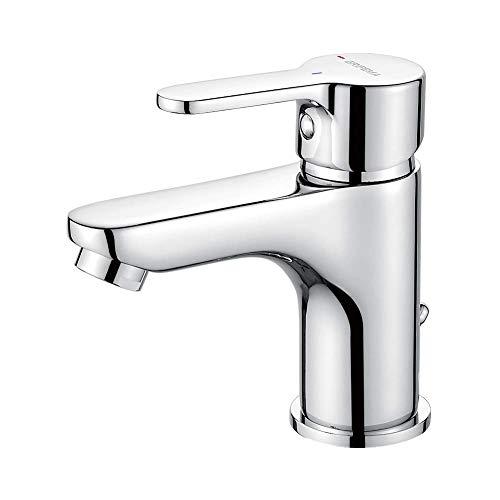 GRIFEMA PORTO-G11003   Badarmatur - Bad Wasserhahn, G3/8'' Anschlüsse   Einhand-Waschtischbatterie, Komfort-Höhe (75 mm), Messing/Chrom