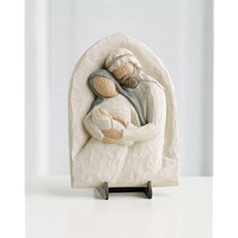 Willow Tree - Holy Family Plaque by Demdaco - 26508 by Willow Tree