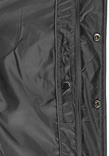!Solid Safi Herren Steppjacke Übergangsjacke Jacke Mit Stehkragen, Größe:S, Farbe:Dark Grey (2890) - 6