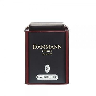 Passion de Fleurs - Thé blanc parfumé vrac - Dammann Frères