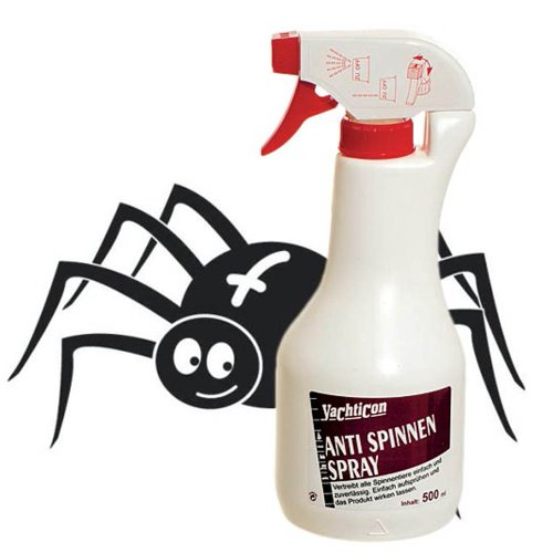 Yachticon Anti Spinnen Spray 500 ml Sprühflasche