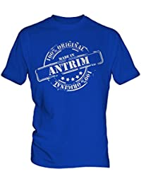 Made In Antrim - Mens T-Shirt T Shirt Tee Top