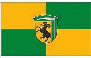 Königsbanner Hochformatflagge Burghaun - 150 x 500cm - Flagge und Fahne