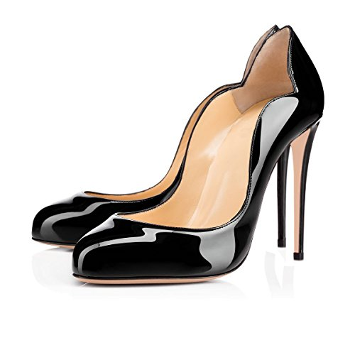 Ubeauty - Chaussures Femme - Chaussures À Talons - Chaussures À Talons Classiques - Black Round Toe