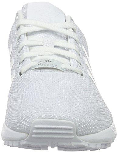 adidas Damen Zx Flux W Gymnastik Elfenbein (Ftwwht/Ftwwht/Cblack)