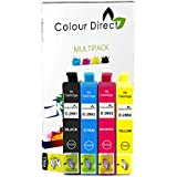 Colour Direct -1 Conjunto Compatible cartuchos de tinta - 29XL Reemplazo para Epson Expression Home XP-235 XP-332 XP-335 XP432 XP-435 impresoras. 1 X 2991 1 X2992 1 X 2993 1 X 2994