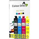 Colour Direct -1 Jeu Compatible Cartouches d'encre - 29XL Remplacement Pour Epson Expression Home XP-235 XP-245 XP-247 XP-332 XP-335 XP-342 XP-345 XP-432 XP-435 XP-442 XP-445 imprimantes. 1 X 2991 1 X2992 1 X 2993 1 X 2994