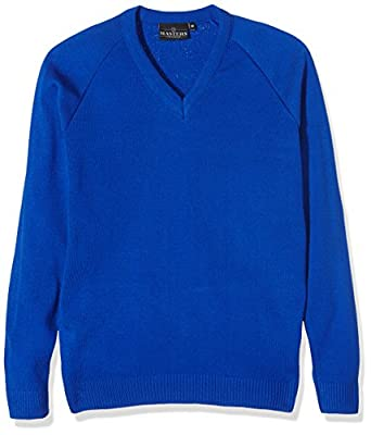 J Masters Schoolwear Boy's Unisex V Neck Knitted School Jumper : everything £5 (or less!)