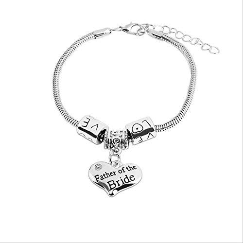 Imagen de tkjj pulsera hot lady hombres hermanas madre padre hermanas charm brand bracelet love bracelet mom best friend gift jewelryfb