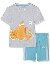 adidas Inf Dy Hanksset Disney - Combinaison d'été pour garçon, Multicolore, taille