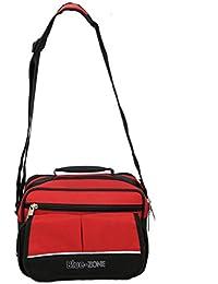 Kuber Industries™ Exclusive Men's Sling Bag,,Shop Bag,Multi Purpose Bag,Key Bag (5 Pockets) -KI1296
