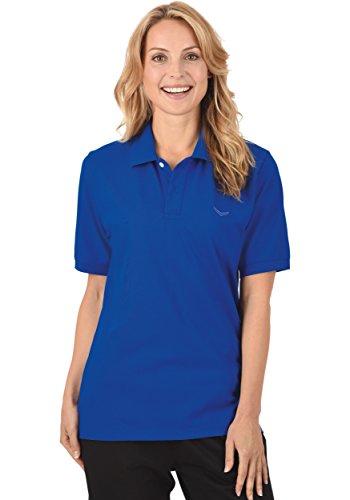 Trigema Trigema Damen Polo-shirt Deluxe Piqué - Polo - Femme Royal