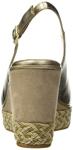Melluso Damen R70806 Pumps Oro (Alba)