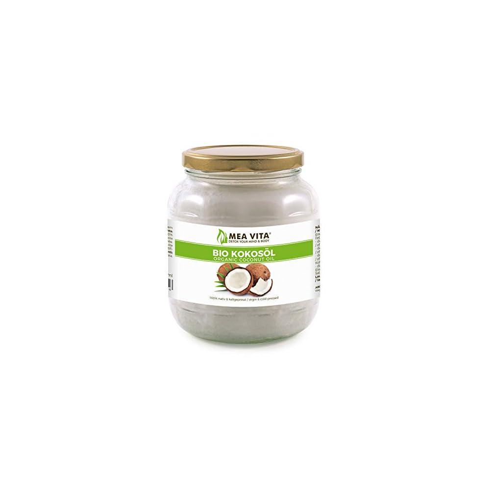 Meavita Bio Kokosl Nativ 1er Pack 1 X 1000 Ml Im Glas