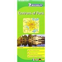 Michelin Map ZOOM Paris Environs de Paris Map No. 106 (Maps/Zoom (Michelin)) by Michelin (2011-03-16)