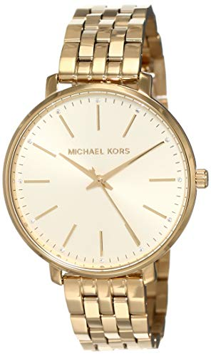 Michael Kors Women's Pyper MK3898 Gold Stainless-Steel Japanese Quartz Fashion Watch