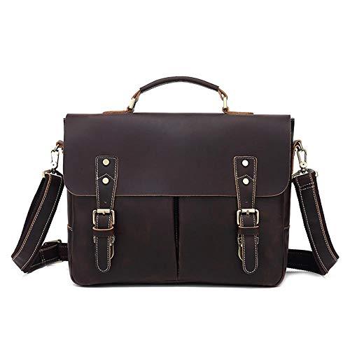 Mangetal Große Umhängetasche für Herren Messenger Bag Kuriertasche, Schultertasche von höchster Qualität für Arbeit, Leben, Reise, Sport
