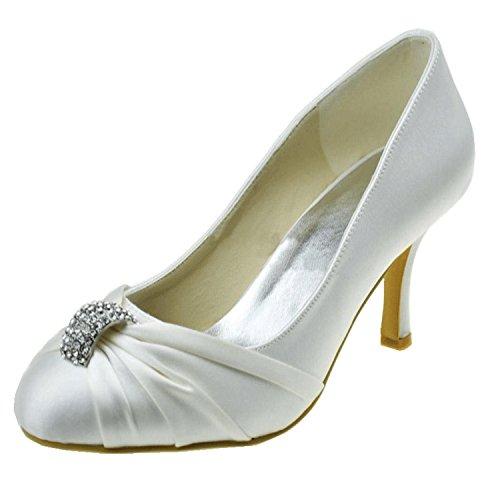 Kevin Fashion , Sandales Compensées femme Blanc - blanc