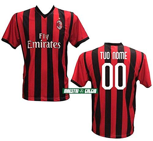 """Milan 2019//2020 Adulto Bambino PIATEK PAQUETA Romagnoli Theo LEAO Maglia Replica Home ROSSONERA CASA Ufficiale /""""Nome+Numero Personalizzato Personalizzabile/"""" A.C"""