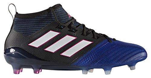 adidas Ace 17.1 Primeknit Fg, pour les Chaussures de Formation de Football Homme Noir (Nero Negbas/ftwbla/azul)