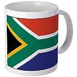 CafePress–Südafrika Flagge–Tasse, keramik, weiß, S