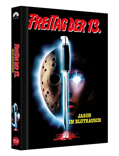Freitag der 13. Teil 7 - Collectors Edition Mediabook (Cover B) [Blu-ray]