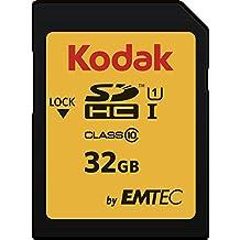 Emtec SDHC 32GB Class10 U1 32GB SDHC UHS-I Clase 10 memoria flash - Tarjeta de memoria (32 GB, SDHC, Clase 10, UHS-I, 85 MB/s, Negro)