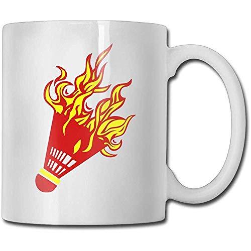 Hot Firing Badminton Kaffeetassen Geburtstagsgeschenk Keramik Teetasse Perfektes Geschenk Für Familie Und Freund