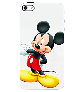 A2ZXSERIES Back Case Cover for Apple iPhone 4s