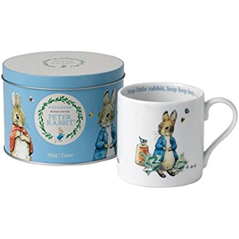 Peter Rabbit Blue Mug In A Tin by Baby