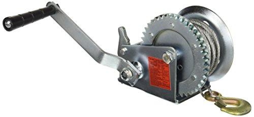 Preisvergleich Produktbild Seilwinde,  manueller Betrieb,  Tragkraft 540 kg