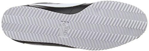 Nike Wmns Classic Cortez Leather, Chaussures de Sport Femme Noir (Black/White)