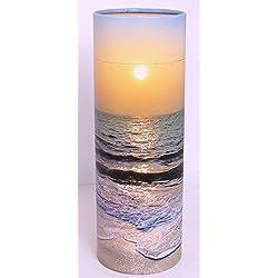 Dispersión de cenizas, diseño puesta de sol