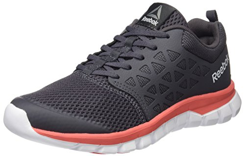 Reebok Bd5541, Sneakers trail-running femme Gris (Ash Grey/fire Coral/white/pewter)