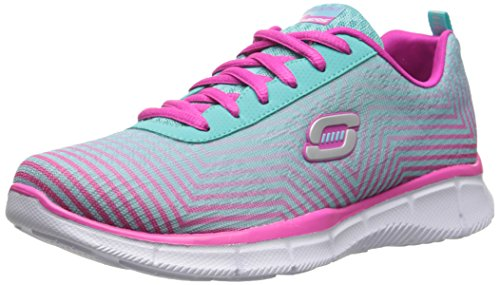 Equalizer-Expect Miracles Sneaker, Azul Claro / Rosa, 11 M US Little Kid