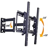 """AlexVyan Wall Mount Stand 26 to 55"""" ( 26 30 32 40 42 46 52 55 inch) 180 Degree Rotatable LCD Plasma LED Bracket for TV of Sony LG Samsung Micromax Lloyd Panasonic Bravia Phillips Yu Hier Videocon and Others"""