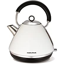 Morphy Richards 102005EE Accents Wasserkocher Pryramide weiss