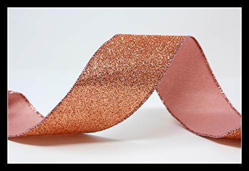 Ribbon Queen Cinta Alambre Alambre Oro Rosa Tartas
