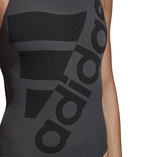 Adidas Infinitex + Solid Costume da bagno Carbonio/nero