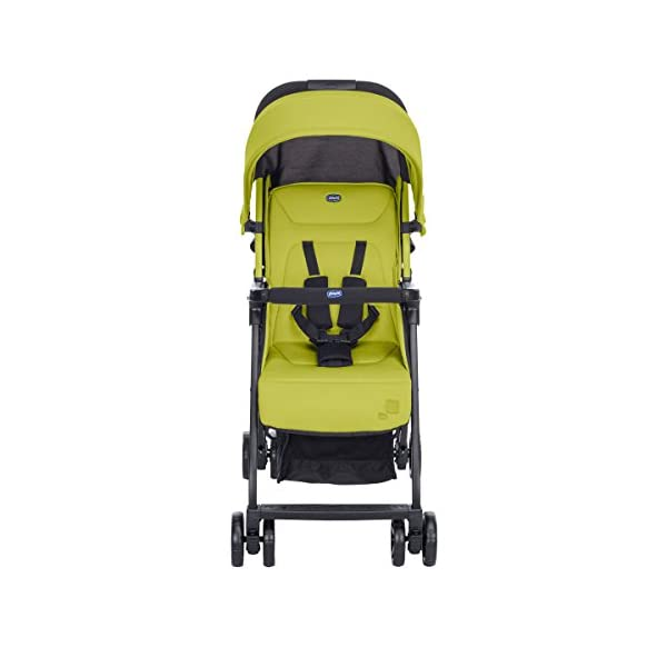 Chicco Buggy Ohlala, Citrus  Can even be lifted with one finger. pure comfort and style. The backrest is adjustable to the flat reclining position. adjustable footrest. With continuous slide for a smooth ride and sliding with only 1 hand. 2