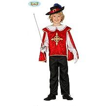 Guirca Costume da Moschettiere Bambino 5 6 Anni 8d2114434527