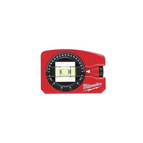 Milwaukee 0 4932459597 Wasserwaage Pocket 360° magnetisch, Red