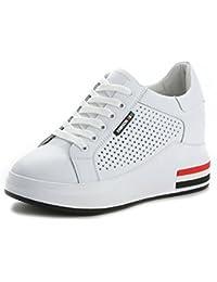 76e224927e9 SBL Zapatos de Verano para Mujeres aumentados con Zapatos Casuales cómodos  de Cuero Femenino