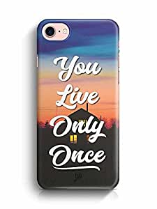 YuBingo You Live Only Once Designer Mobile Case Back Cover for Apple iPhone 7